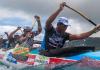 canoe paddllers