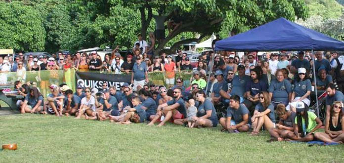 Eddie Aikau crowd